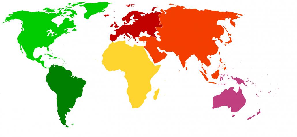 نقشه صادرات محصولات WOER